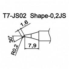 Наконечник Hakko T7-JS02
