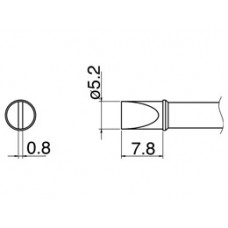 Наконечник Hakko T31-03D52
