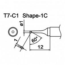 Наконечник Hakko T7-C1
