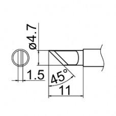 Наконечник Hakko T12-KR
