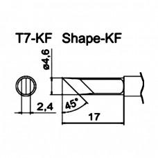 Наконечник Hakko T7-KF