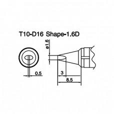 Наконечник Hakko T10-D16