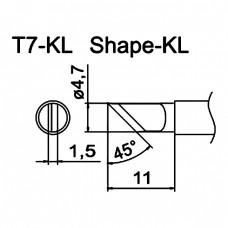 Наконечник Hakko T7-KL