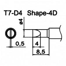 Наконечник Hakko T7-D4