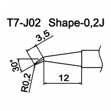 Наконечник Hakko T7-J02
