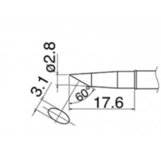 Наконечник Hakko T31-02BC28