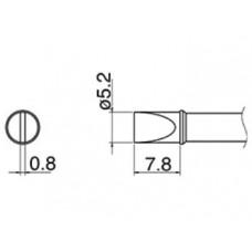 Наконечник Hakko T31-02D52