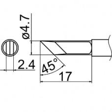 Наконечник Hakko T12-KFZ