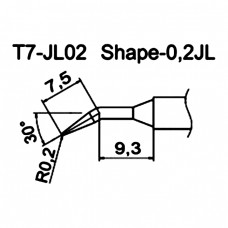 Наконечник Hakko T7-JL02