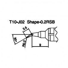 Наконечник Hakko T10-J02