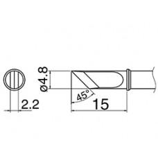 Наконечник Hakko T31-02KU